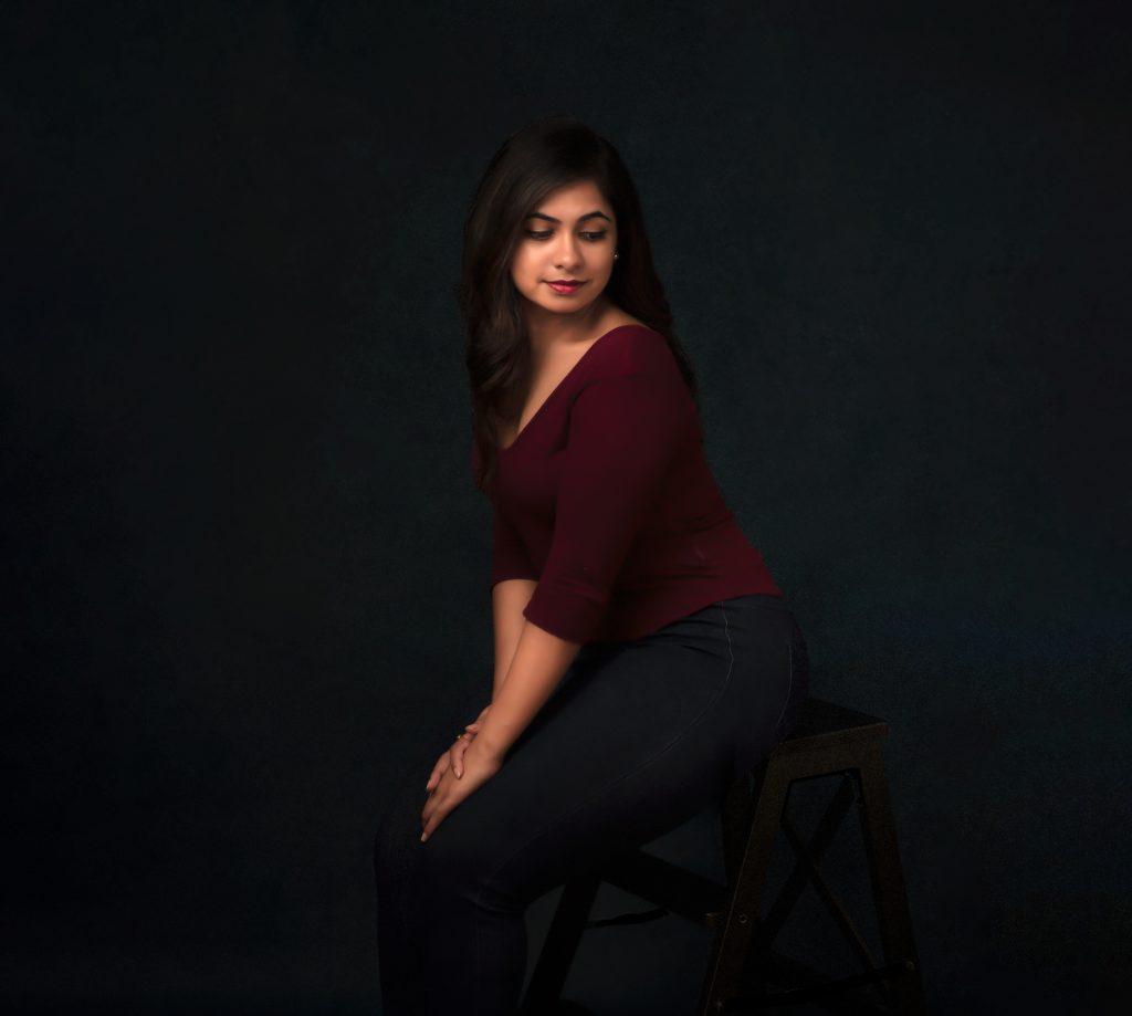 Beauty photo shoot