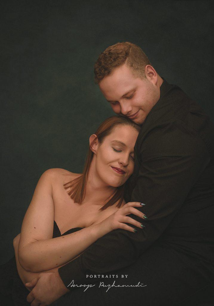 Elegant couple photo